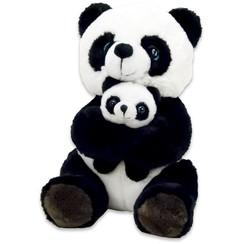 Panda Knuffel met baby panda