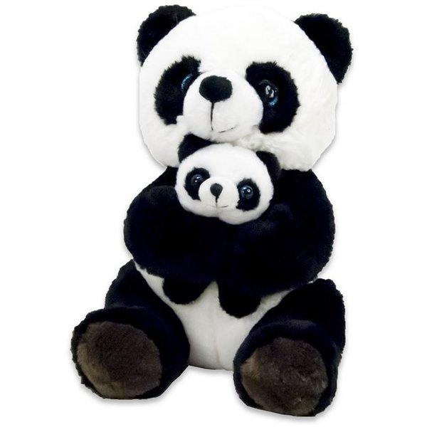 Dinotoys Panda Knuffel met baby panda