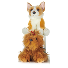 Paws-Dinotoys Luxe Plucke Yorkshire hond