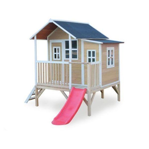 Houten Speelhuis, Tuindeco, Exit, Swing King en Axi en Step2, meer dan 180 verschillende speelhuisjes snel leverbaar!
