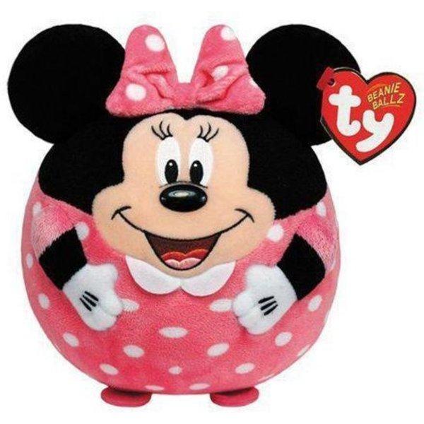 Pluche Ty Beanie Ballz Minnie Mouse
