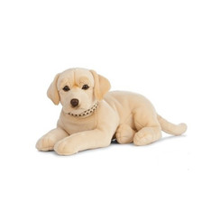 Giant Labrador Knuffel groot blond, 60 cm