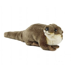 Otter Knuffel 32 cm, Living Nature