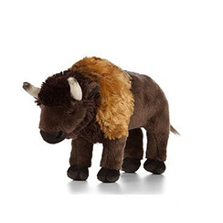 Knuffel Bison