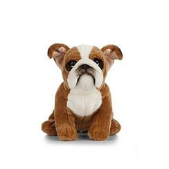 Engelse Bulldog Knuffel, 24 cm