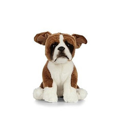 Knuffel Hond Boxer, 24 cm