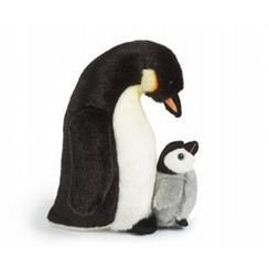 Knuffel Pinguin met kuiken