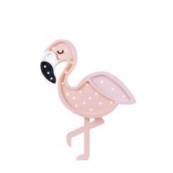 Little Lights lamp Roze flamingo