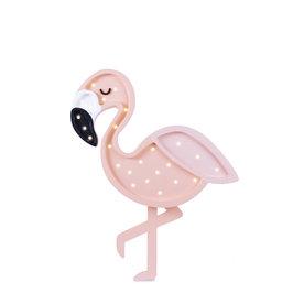 Little Lights Little Lights lamp Roze flamingo