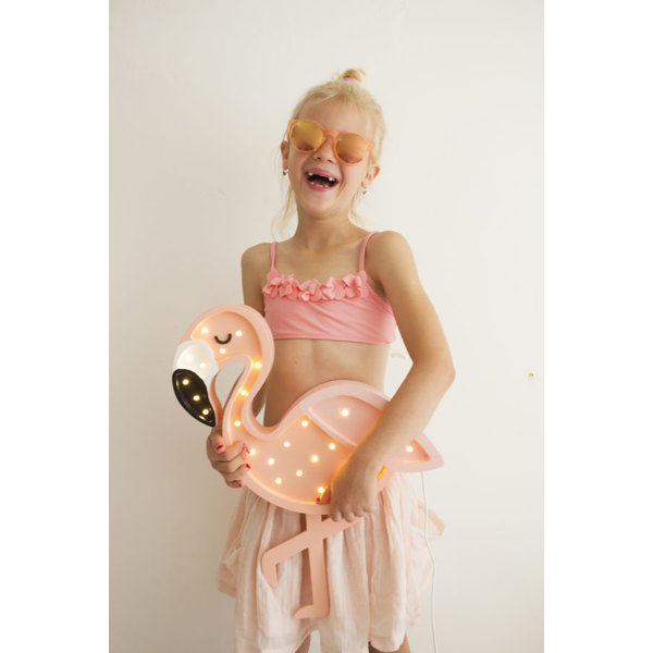 Little Lights Roze Flamingo Led lamp - Little Lights