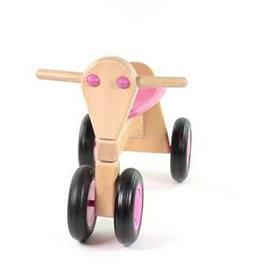 Van Dijk Toys Houten Loopfiets Van Dijk Beuken Roze