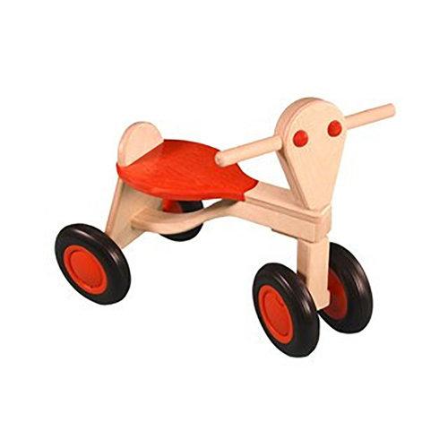 Van Dijk Toys Houten Loopfiets Van Dijk Berken Oranje