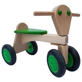 Van Dijk Toys Houten Loopfiets Beuken Groen