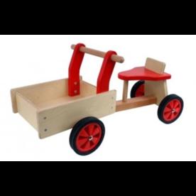 Playwood Kinderbakfiets hout Rood