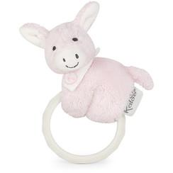 Kaloo Les Amis Baby - Ezel met bijtring roze