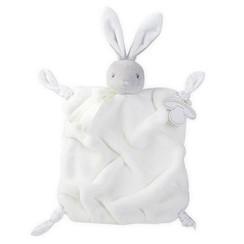 Knuffeldoekje konijn wit