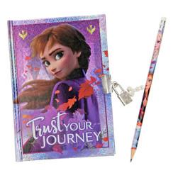 Disney Frozen 2 Dagboek met slot