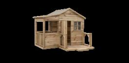 Waar plaats ik mijn houten speelhuisje