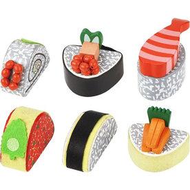 Playwood Sushi set, houten speelset