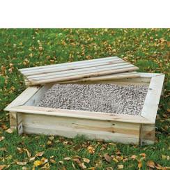 Houten Zandbak vierkant 120 cm