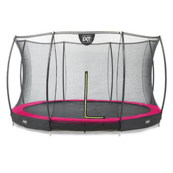 EXIT Silhouette inground trampoline ø183cm met net