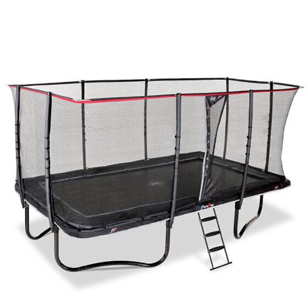 exit EXIT PeakPro trampoline 305x519cm - zwart