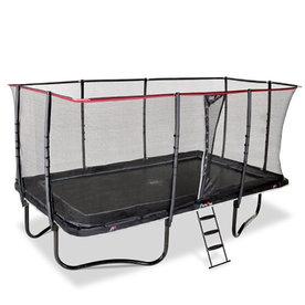 exit EXIT PeakPro trampoline 275x458cm - zwart