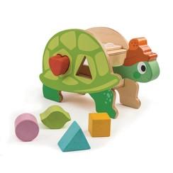 Tender Leaf Toys vormendoos Schildpad