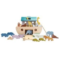 Tender Leaf Toys dierenboot Ark van Noah