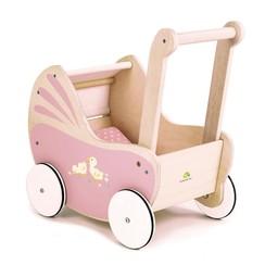 Tender Leaf houten poppenwagen roze