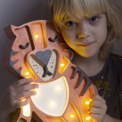 Litle Lights Lamp Tijger