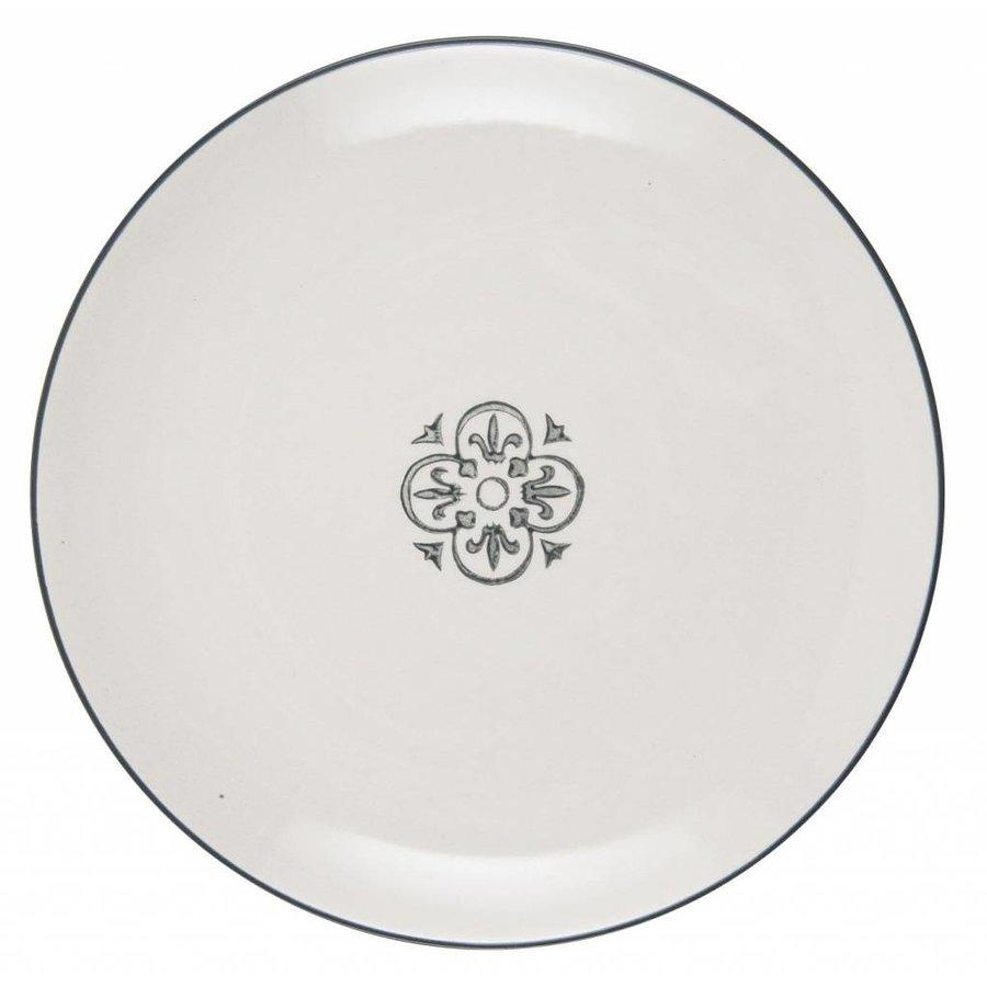 Lunch plate Casablanca 1579-18-1