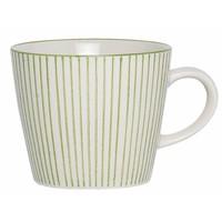 Mug Casablanca stripes verticaal groen