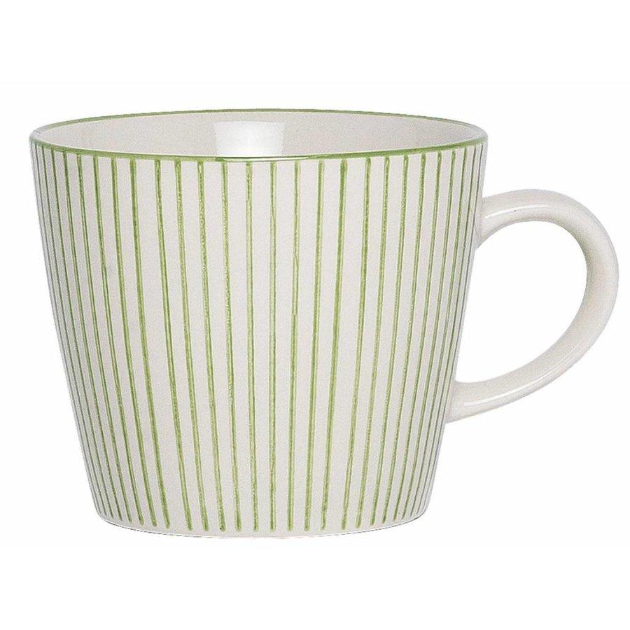 Mug Casablanca stripes verticaal groen-1