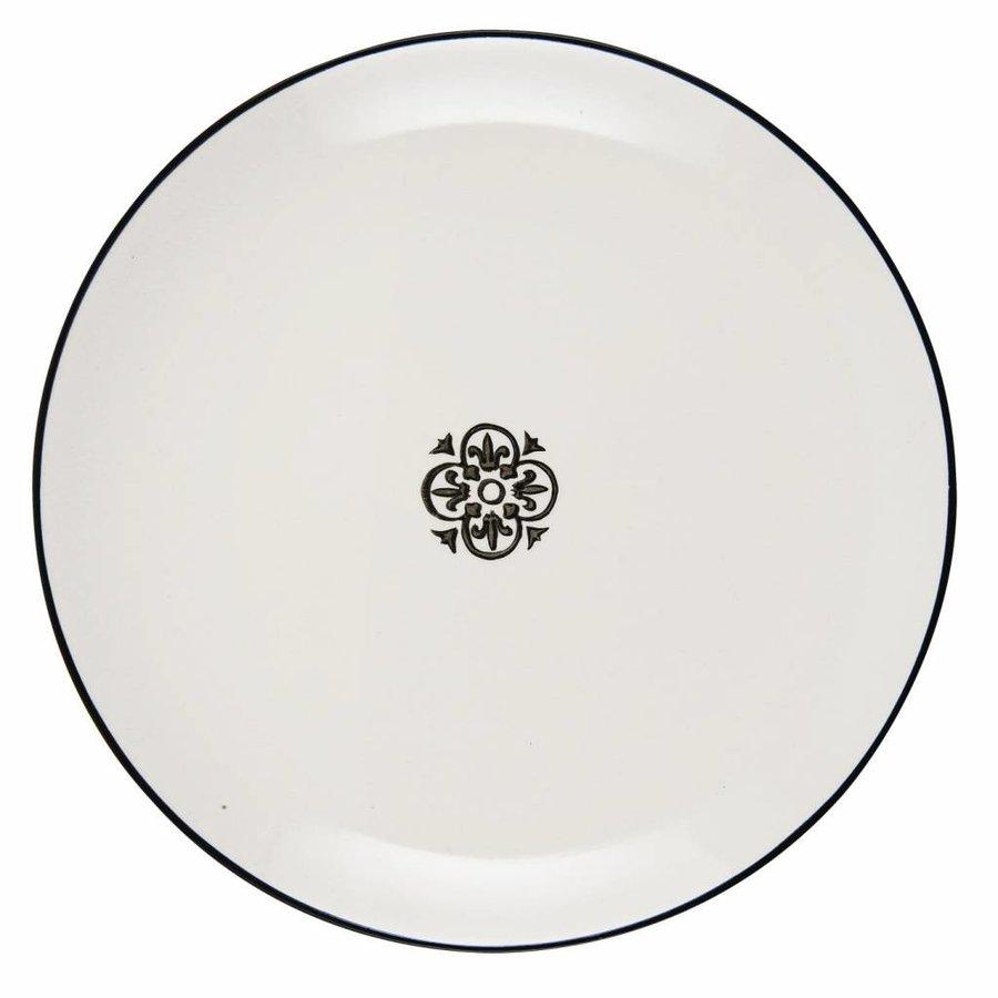 Plate round Casablanca 1570-24-1