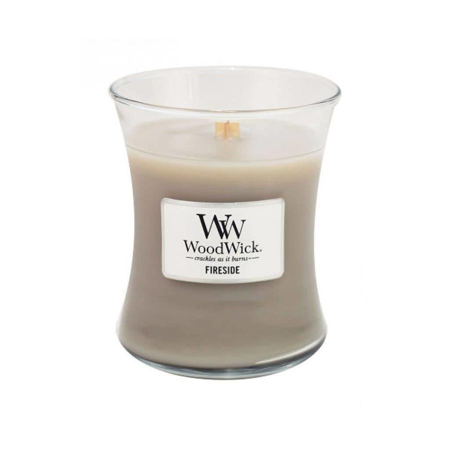 Fireside Medium WoodWick Candle-1