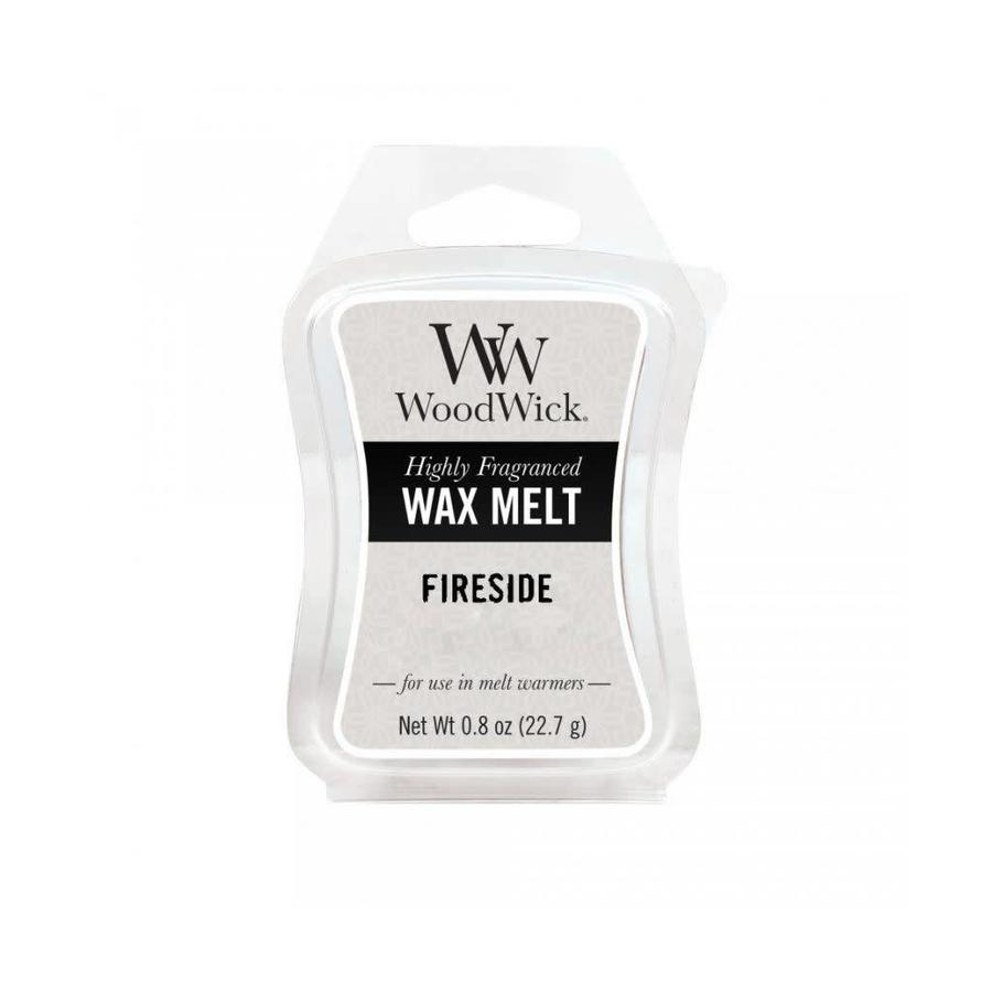 Fireside Mini Wax Melt WoodWick-1