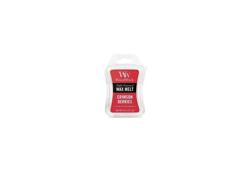 WOODWICK Crimson Berries Mini Wax Melt WoodWick