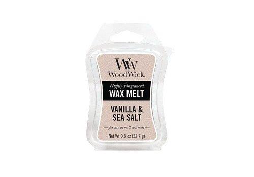 WOODWICK Vanilla & Sea Salt Mini Wax Melt