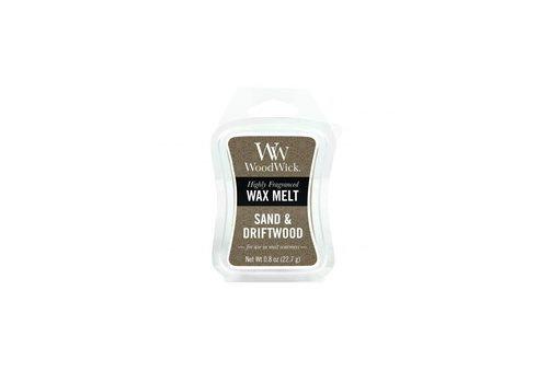 WOODWICK Sand & Driftwood Mini Wax Melt
