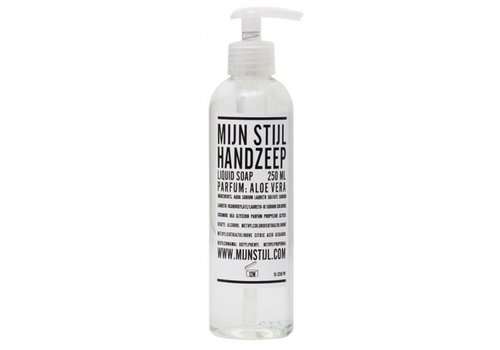 MIJN STIJL Handzeep 250 ml parfum aloe vera transparant