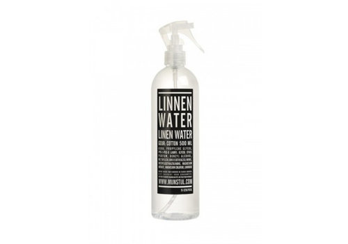 MIJN STIJL Linnenwater 500ml witte verstuiver geur cotton