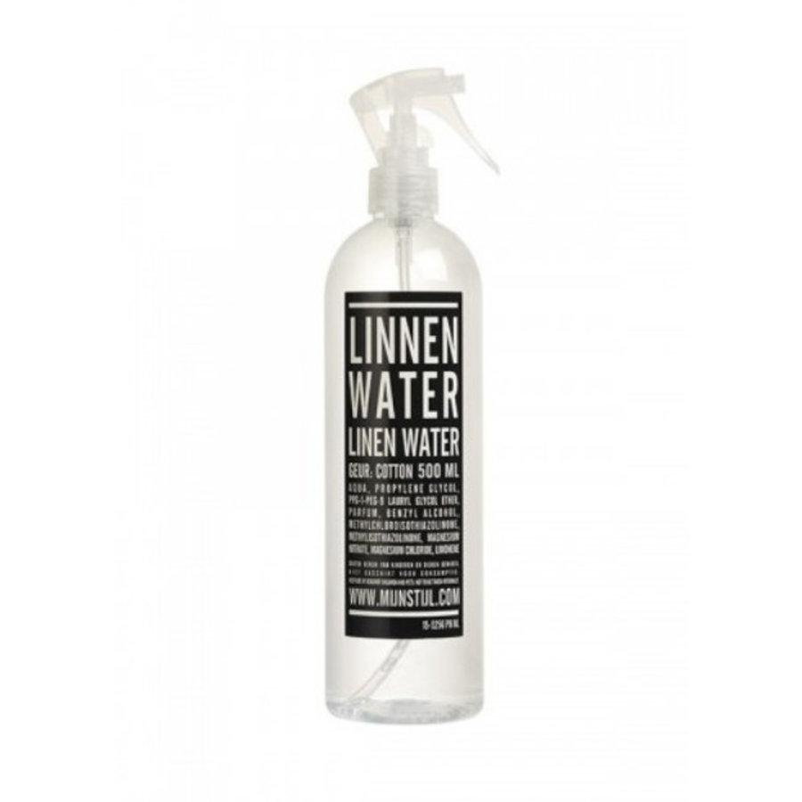 Linnenwater 500ml witte verstuiver geur cotton-1