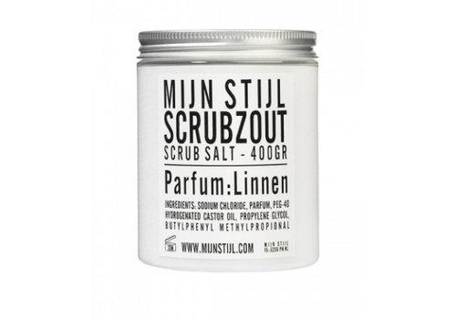 MIJN STIJL Scrubzout parfum linnen