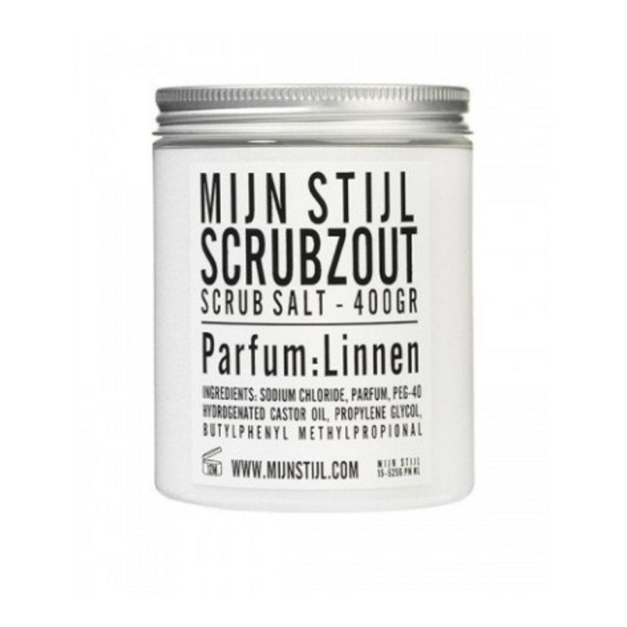 Scrubzout parfum linnen-1