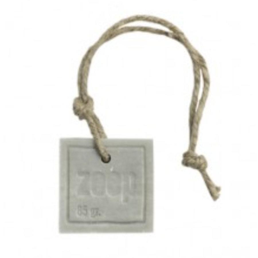 Vierkant licht grijs parfum katoen 85 gram-1