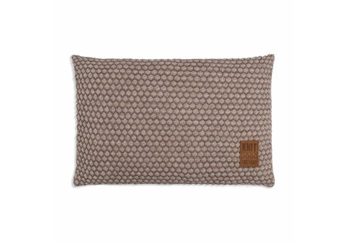 KNIT FACTORY Juul Kussen 60x40 Marron/Beige