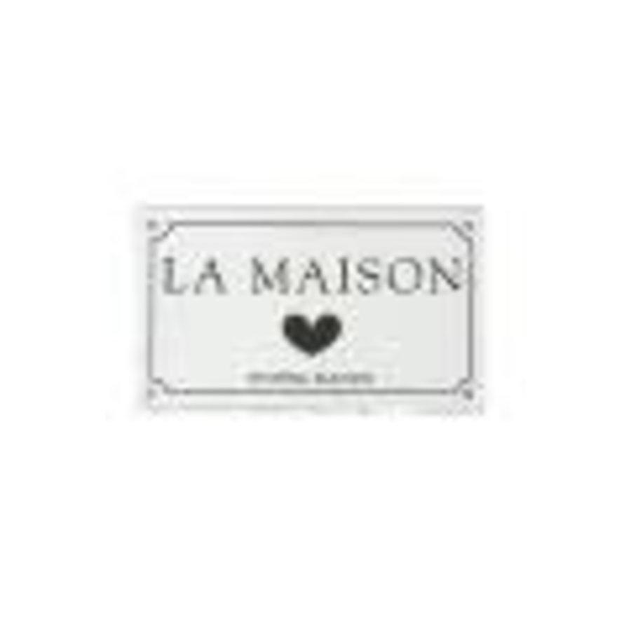 Classic Enamel La Maison Sign-1