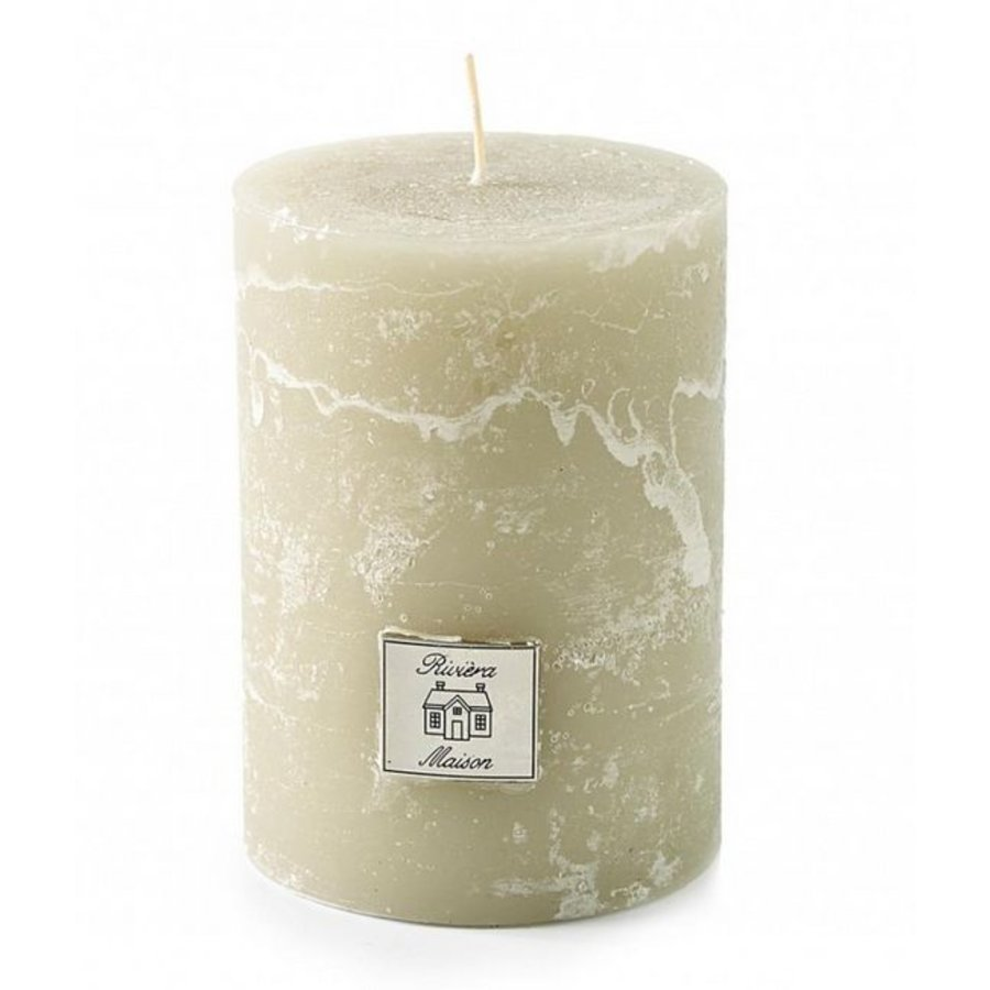 Rustic Candle Desert Sand 7x10-1