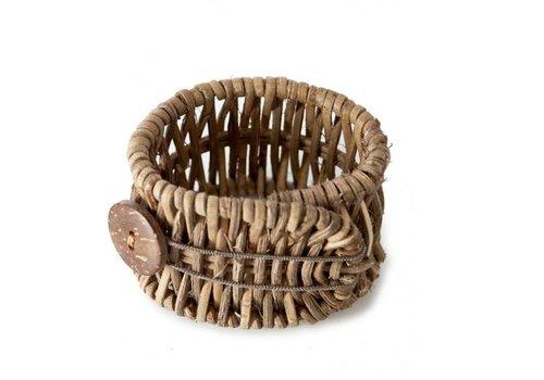 RIVIERA MAISON Rustic Rattan Folding Napkin Ring